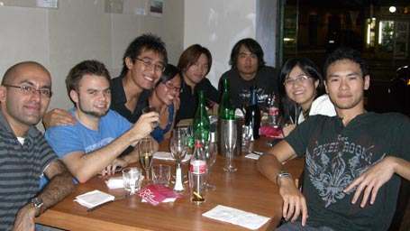 My BDM friends and I at my birthday dinner at Twelve, Newtown
