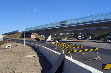 future onramp to the M7 from OldWindsorRd
